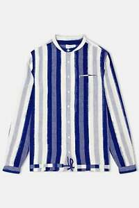 Ymc Tiger Malick Shirt Short Sleeve Brown All Sizes