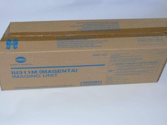 Genuine Konica Minolta IU311M Magenta Imaging Unit Bizhub C300 C352 4062-523