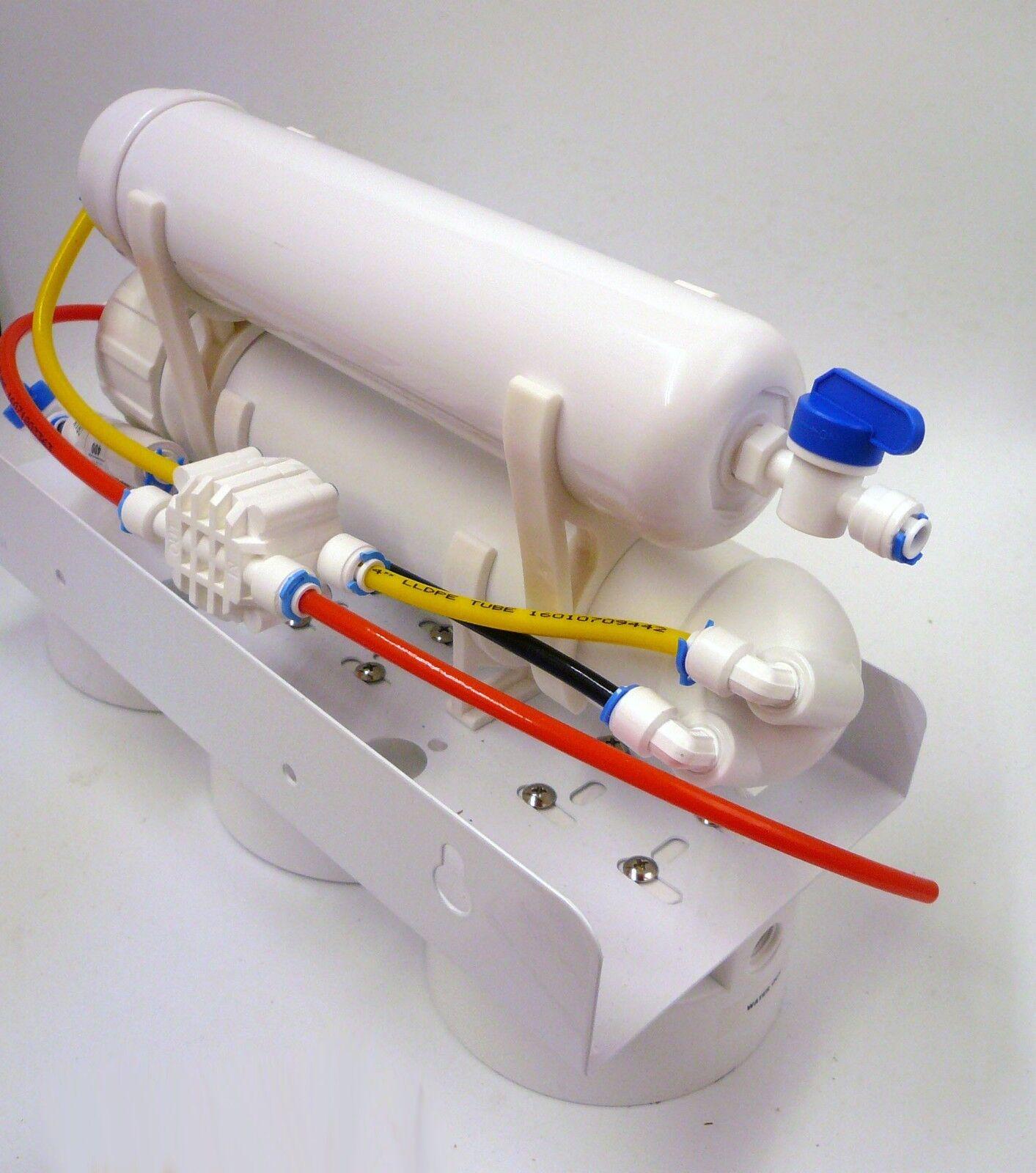 5 Stage Reverse Osmosis RO + DI Deionization Deionization Deionization Water System, 100 GPD membrane 61a540