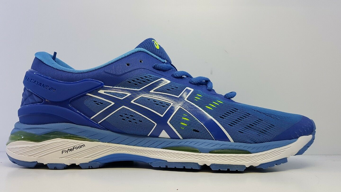 Asics Ladies bluee Lace Up Trainers Eu 42