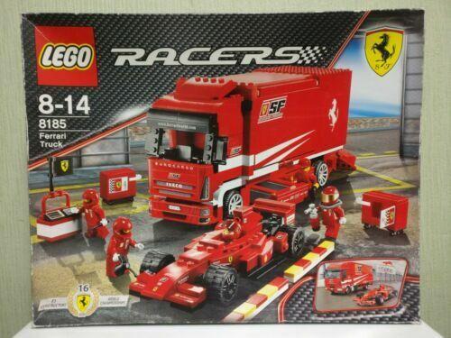LEGO RACERS Ferrari Truck w. F1 racing car - 8185