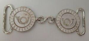 modèle-type de boucles de ceinturon de cérémonie des Chasseurs à Pied ou Alpins