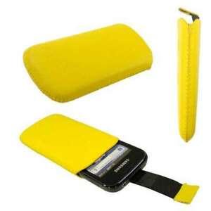 caseroxx-Slide-Etui-fuer-Samsung-S5660-Gio-in-gelb-aus-Kunstleder