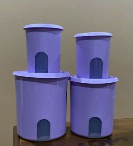 Amazon.com: Tupperware One-Touch Reminder Canisters Set of