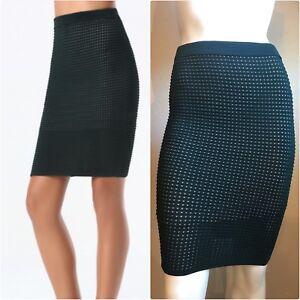 42d163d9d7 Image is loading Bebe-Ottoman-Pencil-Skirt-Size-XS