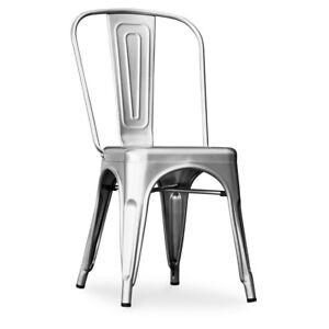 Silla Estilo Tolix Industrial Chaise Style Metal