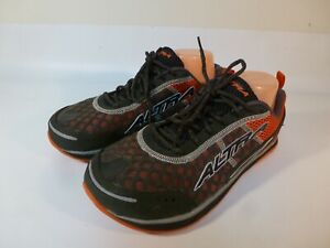 Altra Running Shoes Men S Gray Red Zero Drop Us 9 5 Ebay
