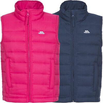 TRESPASS filles Jadda polyester légèrement matelassé veste sans manches gilet manteau