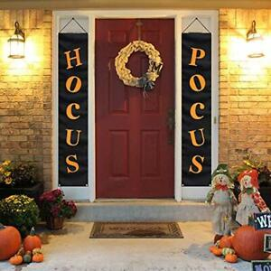 Details About Halloween Props Decoration House Party Outdoor Porch Sign Door Frame Black Dark
