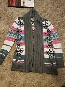 Eoote Urban Outfitter Womens Size Small Knit Sweater Open Front