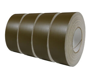 100mph Tape 4-pack Olive Drab USGI Military Spec Waterproof 2 in x 60 yd Roll