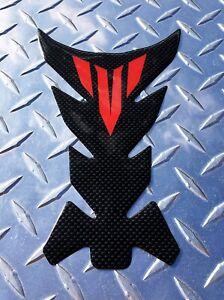 Yamaha MT Logo Carbon-Look Tank Pad - MT10 MT09 MT07 MT03 FZ10 FZ09 FZ07 FZ03