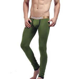 Gr-S-M-L-XL-Longpant-Longleg-Funktionsunterwaesche-Lange-Unterhose-Thermo-Khaki