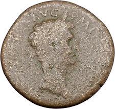 Nerva 97AD Sestertius Big Ancient Roman Coin Fortuna Luck Cult  i45658