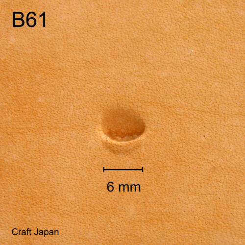 Punziereisen Lederstempel Leather Stamp B61 Craft Japan Punzierstempel