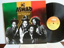 Aswad - Not Satisfied  CBS 85666  UK LP  1st Press 1981 + Insert