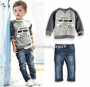 49e3a2a1d Image is loading Baby-clothes-KIDS-boys-clothes-fall-spring-clothes-