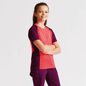 Dare2b-Luminary-Kids-Lightweight-Quick-Drying-Wicking-T-Shirt-Pink