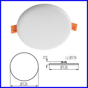 LED-10W-Downlight-da-Incasso-Rotondo-Soffitto-Montaggio-4000K-Luce-Ultra-Slim