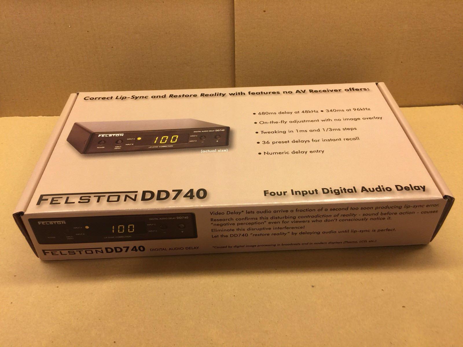 Felston DD740 Digital Audio Delay for lip-sync correction