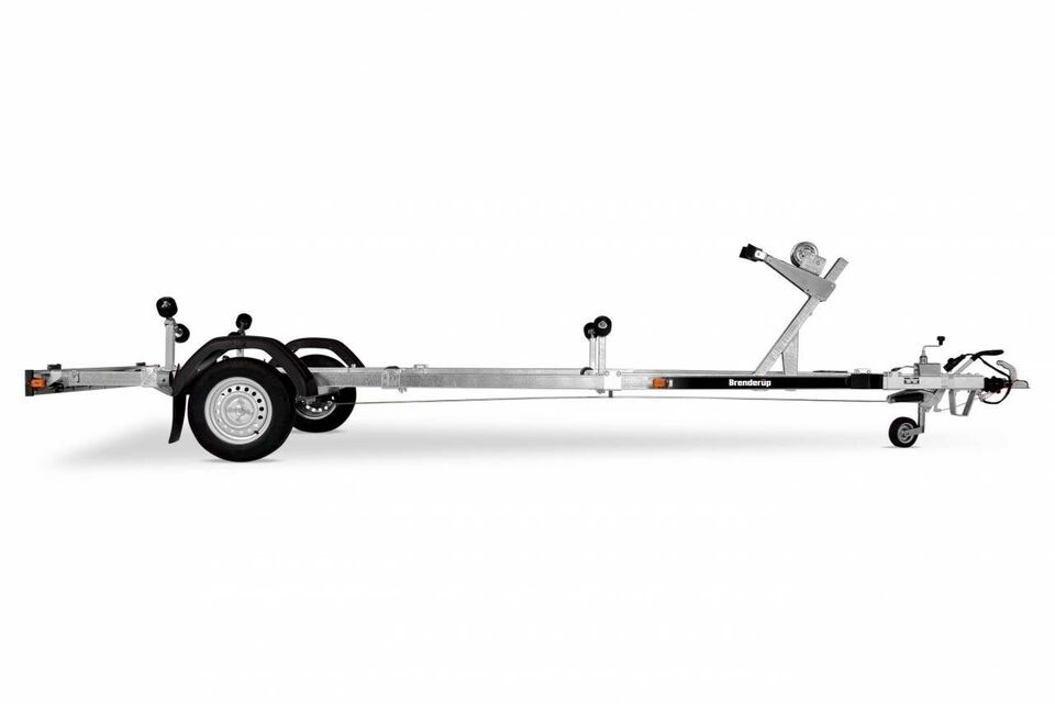 Trailer, Brenderup Brenderup 1000 KG - 18 fod, lastevne