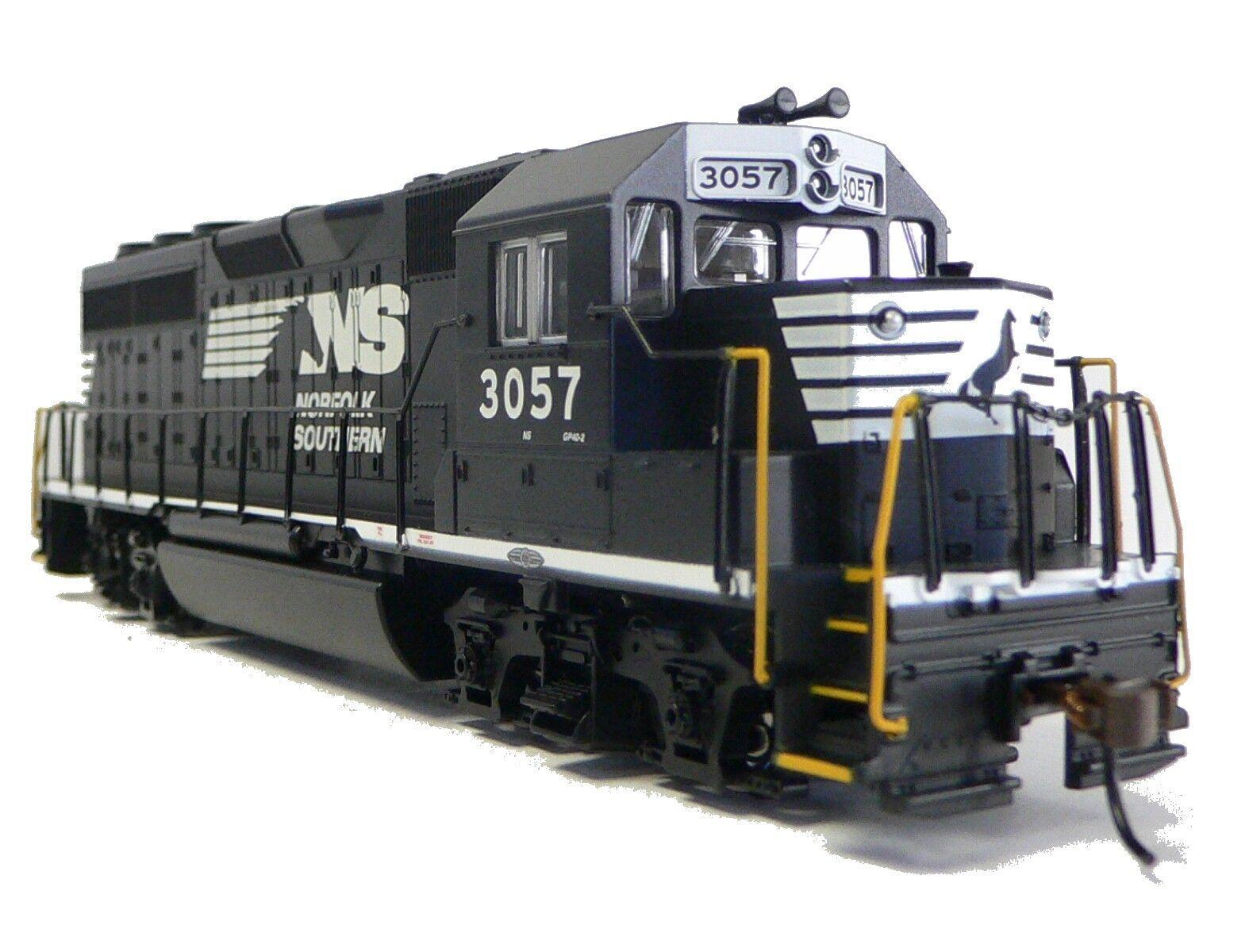 HO Scale Model Railroad Train Engine Norfolk Southern GP-40 GP-40 GP-40 Locomotive DCC Sound ec1c16
