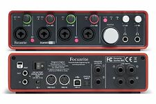 Focusrite Scarlett 18i8 Gen 1 USB audio interface w/4- Mic Preamps - REFURBISHED