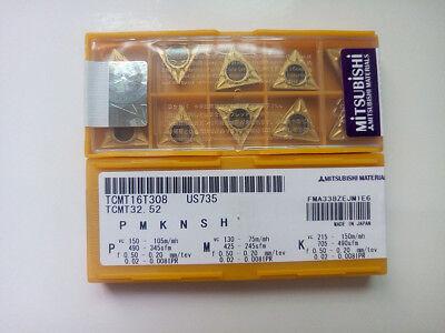 20pcs MITSUBISHI CNMG120408-MS US735 CNMG432MS Carbide Insert NEW free shipping