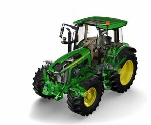A3-John-Deere-5125r-Tractor-Cut-A-way-Agriculture-Wall-Poster-Brochure-Picture