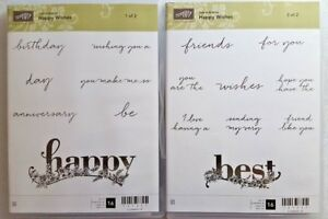 My Friend Clear Mount Rubber Stamp Set Box B Stampin/' Up!