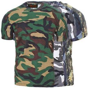 Game-Maglietta-Esercito-Militare-Mimetici-Mimetico-Outdoor-ESERCITO