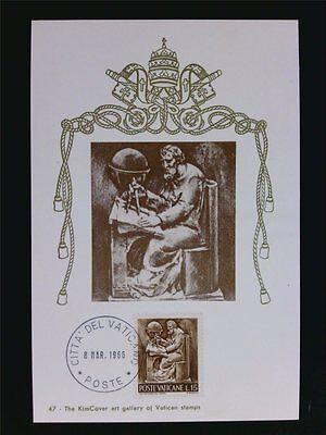 Ehrlichkeit Vatican Mk 1966 Berufe Wissenschaft Sience Maximumkarte Maximum Card Mc Cm C6246 Motive Arbeitswelt-branchen