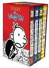 Diary of a Wimpy Kid Boxed Set: Diary of a Wimpy Kid/Rodrick Rules/The Last Straw/Dog Days by Jeff Kinney (Multiple copy pack, 2014)