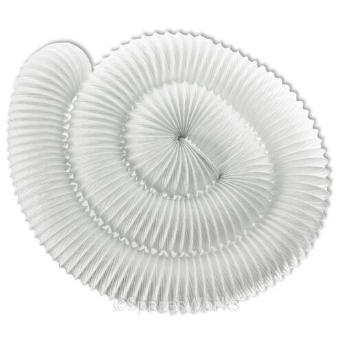 """6m extra long tuyau de ventilation pour cata vented sèche-linge 4 /""""tuyau conduit PVC solide"""