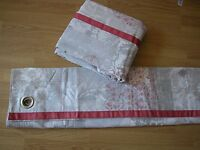 """NEXT ORNAT PATCHWORK PRINT EYELET LINED COTTON CURTAINS 66X90"""" RRP £95 HUGE"""