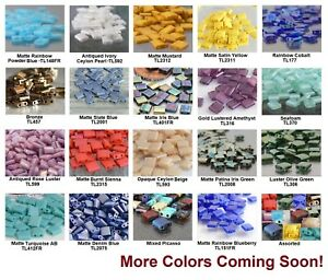 50-Square-2-Hole-TILA-Glass-Beads-5mm-Miyuki-Choose-Color-NEW-ARRIVALS