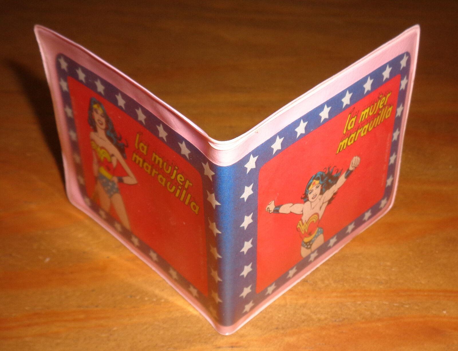 WONDER Damenschuhe ARGENTINA party party party favor VINTAGE plastic Wallet toy DC Comics variant 8419a3