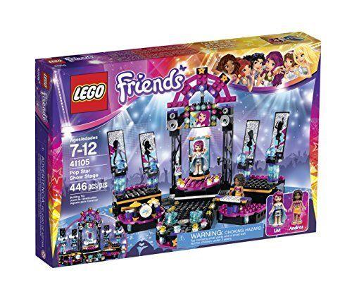 alto sconto LEGO Friends 41105 Pop Estrella mostrare mostrare mostrare Stage costruzione Kit  saldi