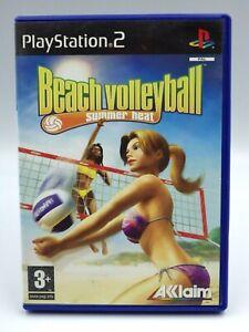 PS2-Beach-volley-summer-Heat-Jeu-Playstation-2-retrogaming