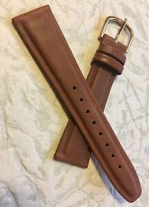 Very-supple-Genuine-Calf-20mm-vintage-watch-strap-raised-centers-waterproof-NOS