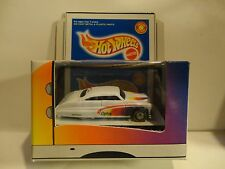 Hot Wheels Ltd. Edition Lexmark White Purple Passion w/Real Riders