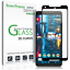 Google-Pixel-2-XL-amFilm-Full-Cover-Tempered-Glass-Screen-Protector-Black Indexbild 1