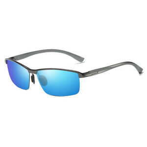 40a716225d Image is loading Cyxus-Sports-Semi-Rimless-Polarized-Sunglasses-for-Anti-