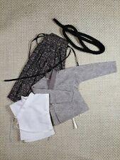 shirt #27,scale is 1//6 kimono belt and hakama for a 12 inch samurai figure