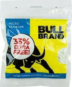 600-Bull-Brand-Resellable-Micro-Filtro-Fino-Consejos-Tabaco-Liar-Cigarrillo