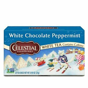 Celestial-Seasonings-White-Chocolate-Peppermint-Tea-NEW-20-bags-boxed