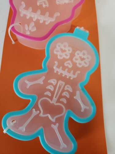 2 Pack Day Of The Dead Cookie Cutters