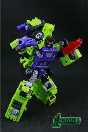 NUOVO TFC Hercules Toy Transformers Devastator DR MANOVELLA Figura in magazzino