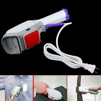 Handheld Fabric Iron Laundry Suits Clothes Electric Steamer Brush US Plug MR