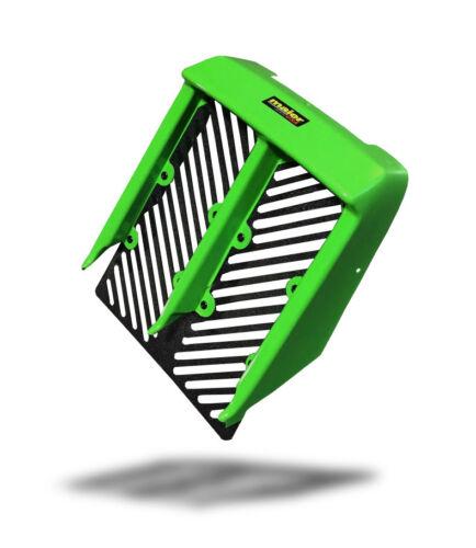 NEW YAMAHA BANSHEE YFZ350 GREEN PLASTIC RADIATOR COVER